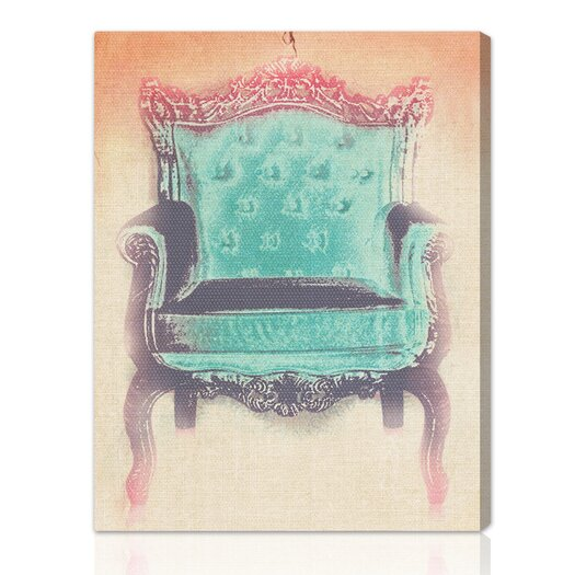 Oliver Gal LAB Creative The Throne Graphic Art on Wrapped Canvas