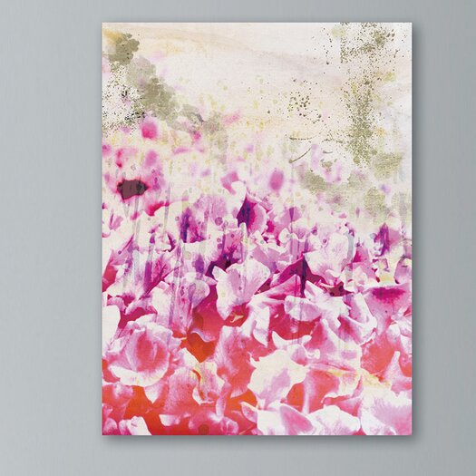 Oliver Gal Oliver Gal Gold Spring Graphic Art on Canvas