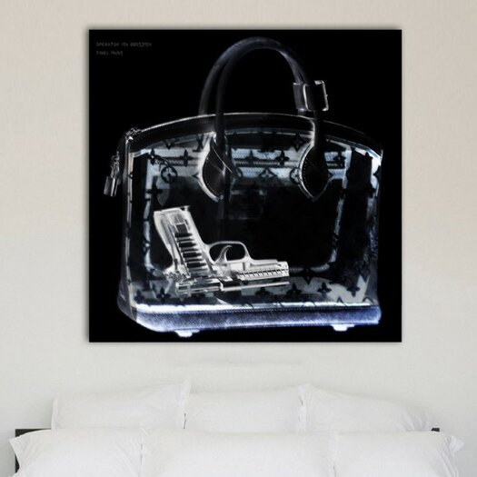 Oliver Gal Couture X-Ray Graphic Art on Wrapped Canvas