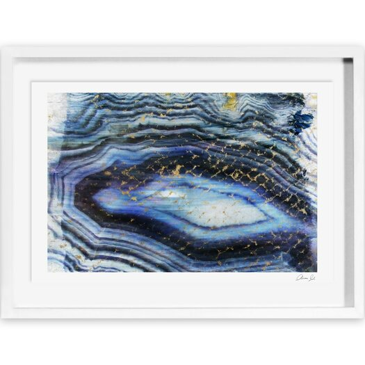 Oliver Gal Sea of Gold Framed Painting Print