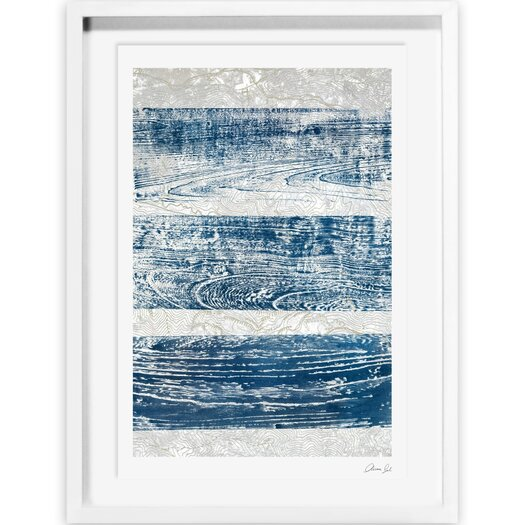 Artana Trails from the Blue Framed Painting Print