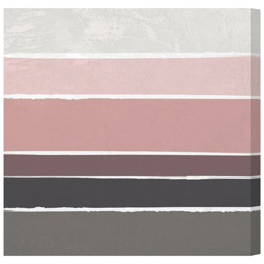 Artana Dusty Rose Painting Print on Wrapped Canvas