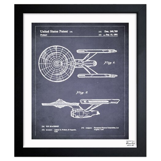 Oliver Gal Oliver Gal Enterprise 1981 Framed Graphic Art
