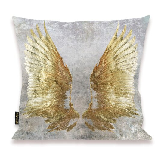 Oliver Gal Home My Wings Throw Pillow