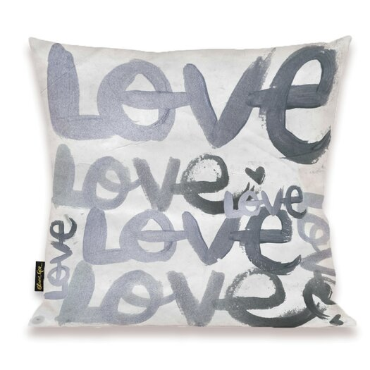 Oliver Gal Home Four Letter Word Throw Pillow