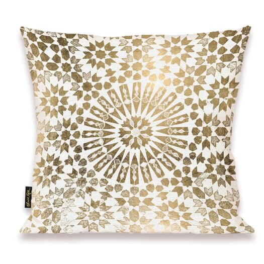 Oliver Gal Home Goldata Throw Pillow