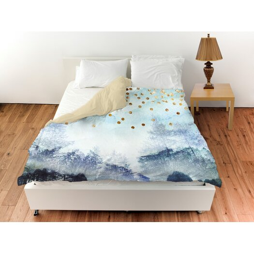 Oliver Gal Home Summer Mist Collage Duvet Cover