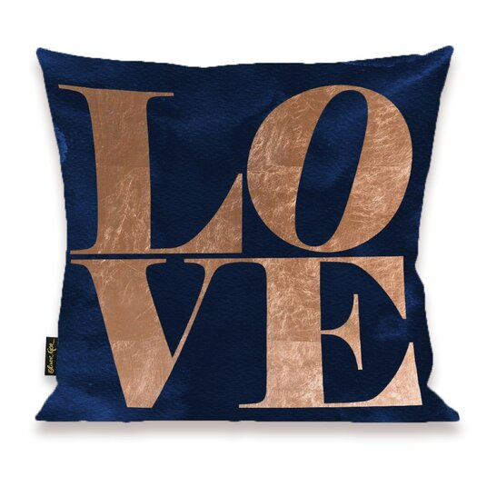 Home Solid Throw Pillow