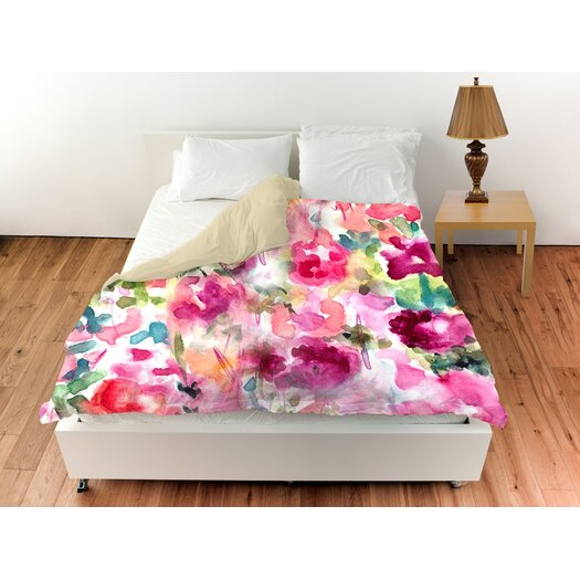 Oliver Gal Home In Wonderland Duvet Cover