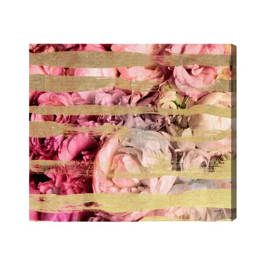 Runway Avenue Fields Of Rose Graphic Art on Wrapped Canvas