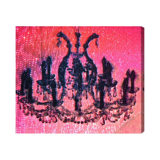 Oliver Gal Runway Avenue Diamond Burst Graphic Art on Wrapped Canvas