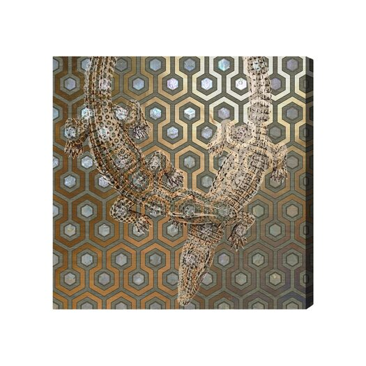 Oliver Gal Artana Olivia Graphic Art on Wrapped Canvas