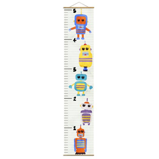 Olivia's Easel Robot Growth Chart