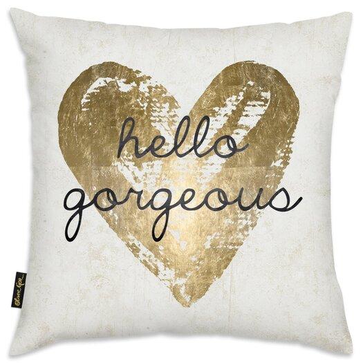 Gorgeous Salute White Throw Pillow