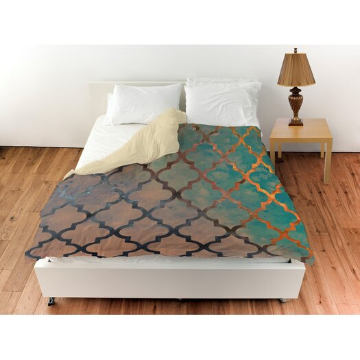 Amour Arabesque Duvet Cover