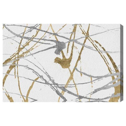 Artana Precious Metals Graphic Art on Wrapped Canvas