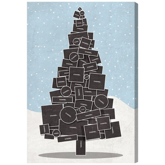 'White Christmas' Graphic Art on Canvas