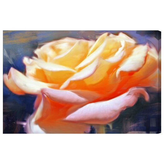 'Blush Rose' Painting Print on Canvas