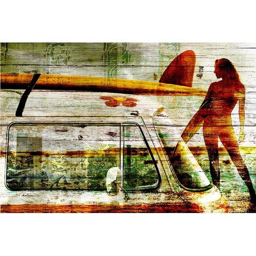 'Surf Gal' Painting Print