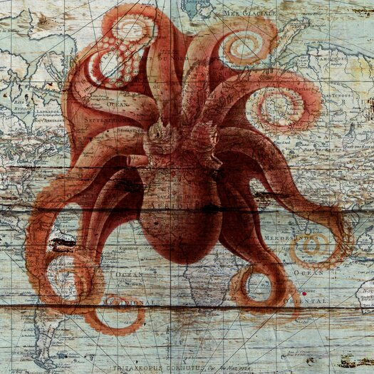 'Octopus' Painting Print