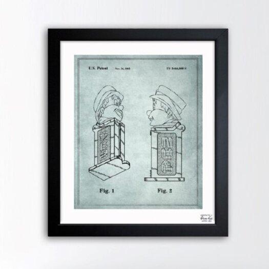 Oliver Gal Oliver Gal Pez Candy Dispenser Base 2002 Framed Graphic Art