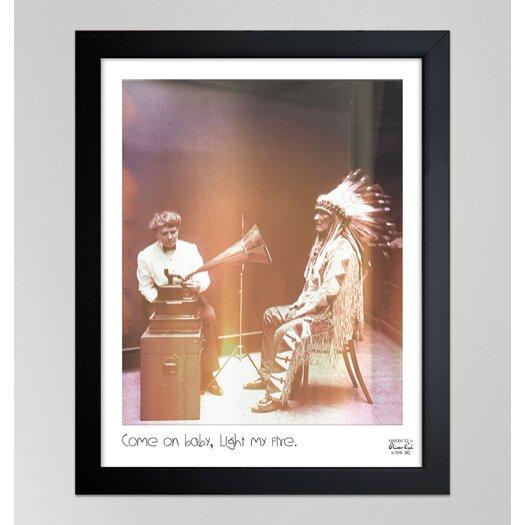 "Oliver Gal Hatcher & Ethan """"Light My Fire"""" Framed Photographic Print"