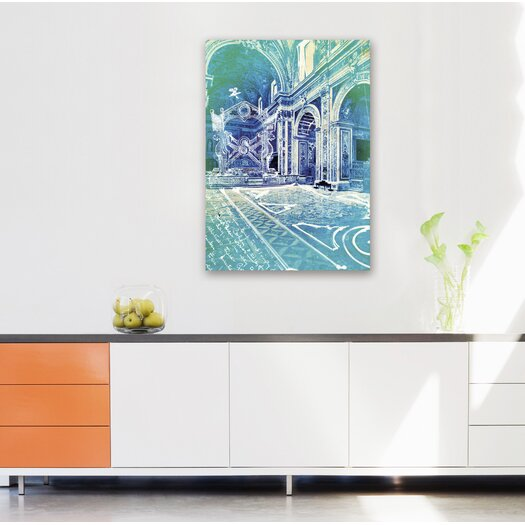 Oliver Gal Canyon Gallery Monte Maria Graphic Art on Wrapped Canvas