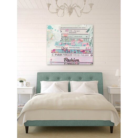 Oliver Gal Oliver Gal Romantica Graphic Art on Wrapped Canvas