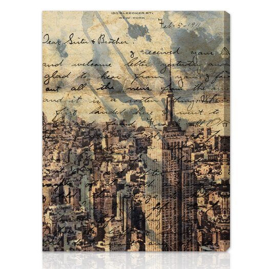 Oliver Gal Canyon Gallery The Empire Graphic Art on Wrapped Canvas