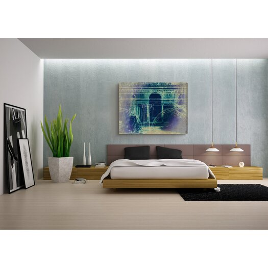 Oliver Gal Canyon Gallery Villa Lante Graphic Art on Wrapped Canvas
