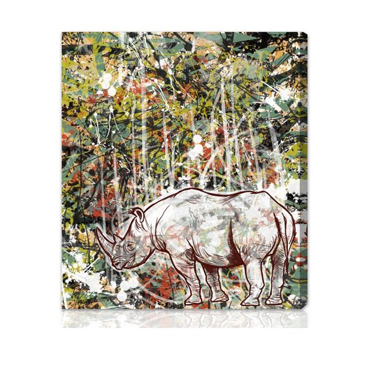 Oliver Gal Canyon Gallery Wild Graphic Art on Wrapped Canvas