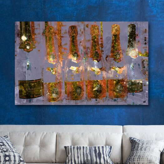 Oliver Gal Oliver Gal Cristal on Crystal Graphic Art on Wrapped Canvas