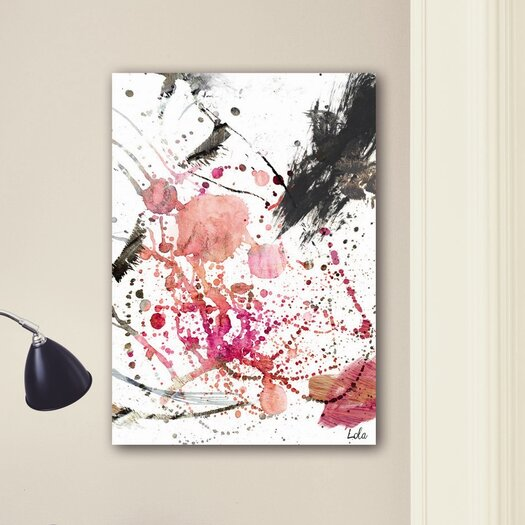 Oliver Gal Artana Dawn of Times by Lola Sanchez Herrero Painting Print on Wrapped Canvas
