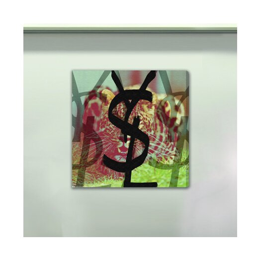 Oliver Gal Burst Creative Sauvage Vogue Graphic Art on Wrapped Canvas