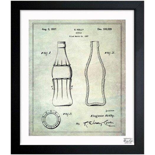 Oliver Gal Oliver Gal Coca Cola Bottle 1937 Framed Graphic Art