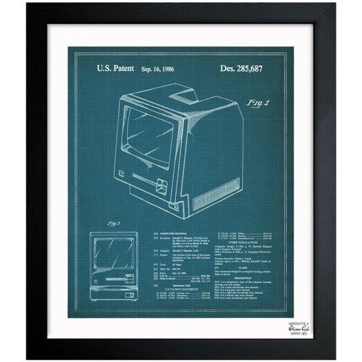 Oliver Gal Oliver Gal Apple Macintosh 128K 1986 Framed Graphic Art