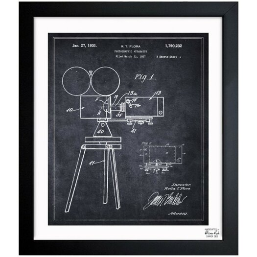 Oliver Gal Photographic Apparatus 1931 Framed Graphic Art