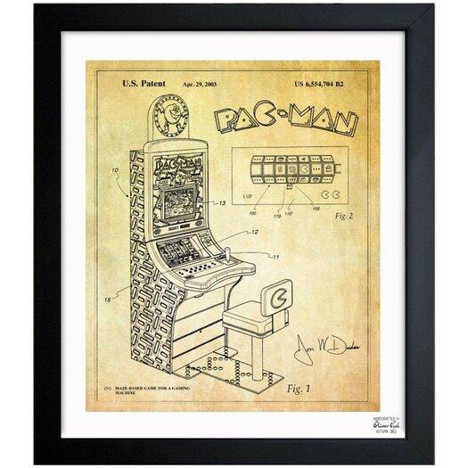 Oliver Gal Oliver Gal Maze Based Game 2003 Framed Graphic Art