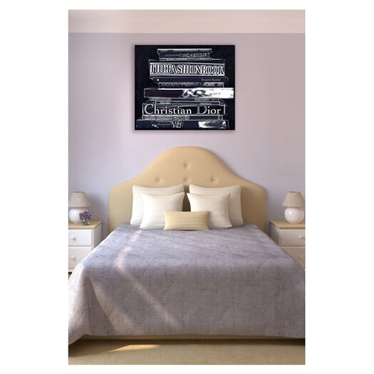 Oliver Gal Oliver Gal Philosophy Textual Art on Wrapped Canvas