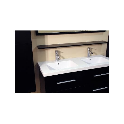 Kokols 48 Double Bathroom Vanity Set With Mirror Allmodern