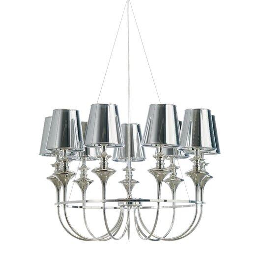 Nuevo Getty Pendant Lamp in Chrome