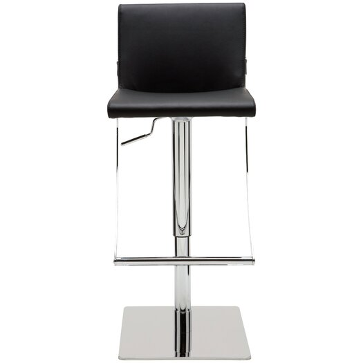 Swing Adjustable Height Bar Stool with Cushion