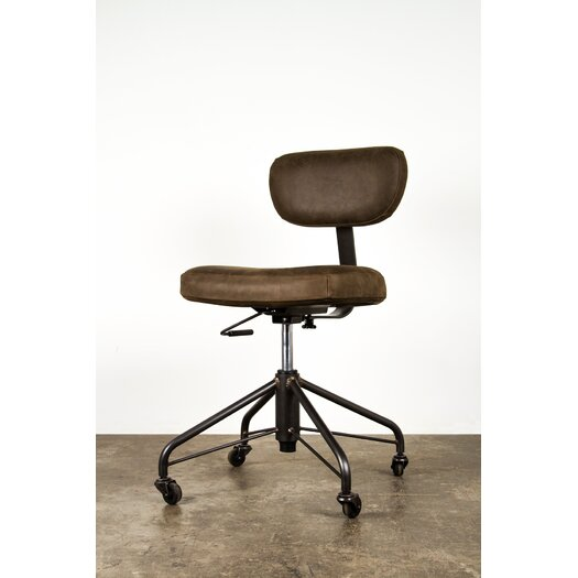 Rand Low-Back Leather Task Chair