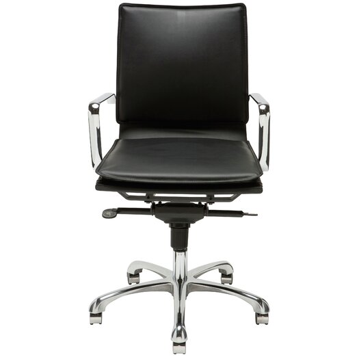 Carlo Low-Back Office Chair with Arms