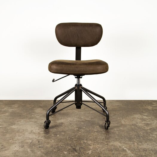 Rand Mid-Back Leather Task Chair
