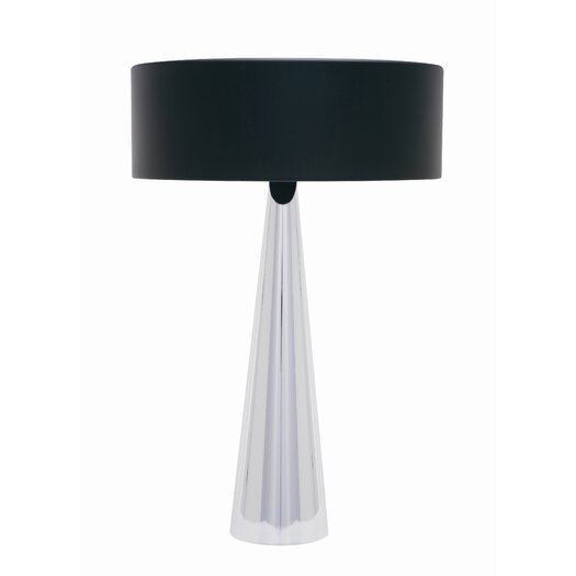 """Nuevo Kasa 23"""" H Table Lamp with Drum Shade"""