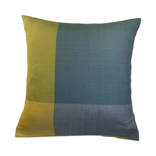 Sustainable Threads Stormy Cotton Throw Pillow