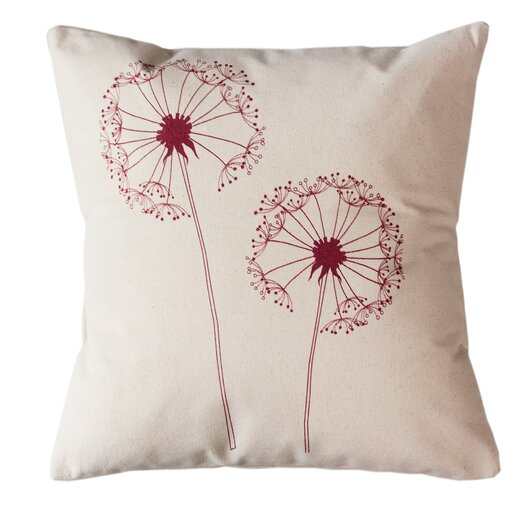 Sustainable Threads Dandelion Cotton Throw Pillow