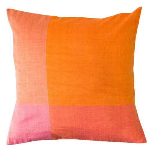Sustainable Threads Sunset Cotton Throw Pillow