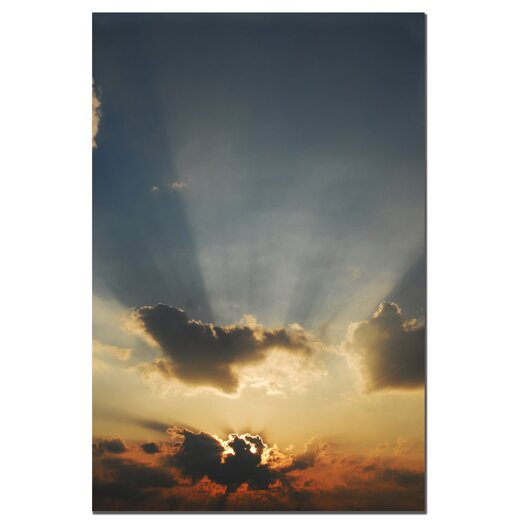 Trademark Fine Art 'Beautiful Sky' by Kurt Shaffer Photographic Print on Canvas